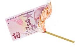 Money Burn Royalty Free Stock Image