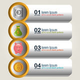 Money and Business design. Stock Photos