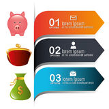 Money and Business design. Royalty Free Stock Photos