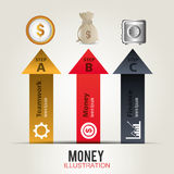 Money and Business design. Stock Photography