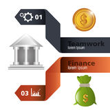 Money and Business design. Royalty Free Stock Image