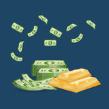 Money business financial Royalty Free Stock Images