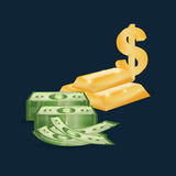 Money business financial Royalty Free Stock Photos