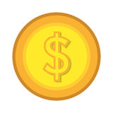 Money and business graphic design flat icon. Stock Photos