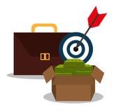 Money and business profits Stock Photo