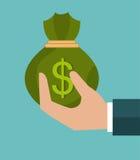 Money and business profits Stock Image