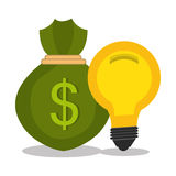 Money and business profits Royalty Free Stock Photography