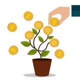 Money and business profits Stock Photos