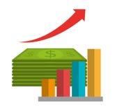 Money and business profits Royalty Free Stock Photo