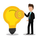 Money and business profits Royalty Free Stock Photos