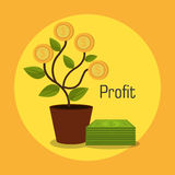 Money and business profits Stock Photography