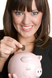 Money Business Woman Stock Photos