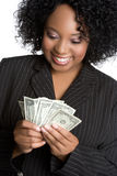 Money Businesswoman Royalty Free Stock Photos