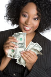 Money Businesswoman Royalty Free Stock Photography