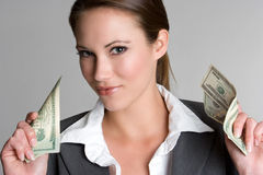 Money Businesswoman Stock Images