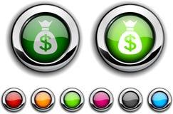 Money button. Stock Image