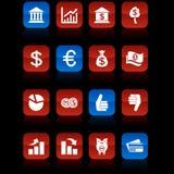 Money  buttons. Money  button set. Money illustration Stock Photo
