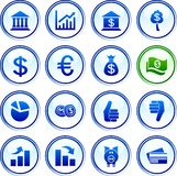 Money  buttons. Stock Photography