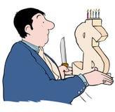 Money cake Stock Photography