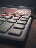Money Calculator Stock Photography