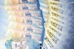 Money of Canada Royalty Free Stock Photography