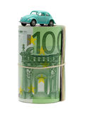 Money & car Stock Photography