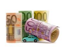 Money & car Royalty Free Stock Photography