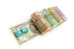 Money & car Stock Photography