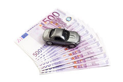 Money for a car Royalty Free Stock Image