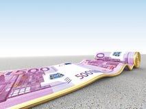 Money carpet Stock Image