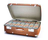 Money case concept royalty free stock images