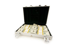 Money in the case isolated  b Stock Photo