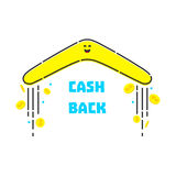 Money cash back Royalty Free Stock Photography