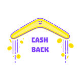 Money cash back Royalty Free Stock Photo