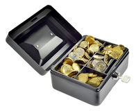 Money in cash box Stock Image