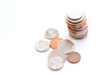 Money cash coins Royalty Free Stock Photo