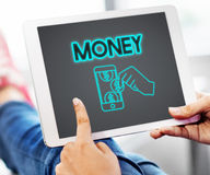 Money Cash Finance Accounting Assets Concept Royalty Free Stock Photography