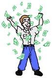 Money catoon Royalty Free Stock Image