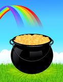 Money cauldron Royalty Free Stock Image