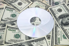 Money, and CD-ROM Royalty Free Stock Photo