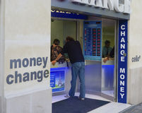 Money change Stock Photo