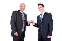 Money changing hands Royalty Free Stock Photography