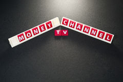 Money channel Stock Photography