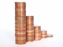Money chart Royalty Free Stock Photo