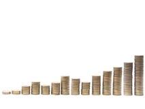 Money chart Stock Image