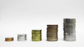 Money chart business finance concept stock video