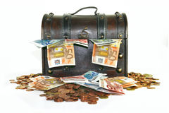 Money Chest Royalty Free Stock Photography