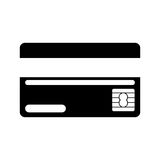 Money chip card Royalty Free Stock Image