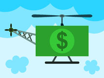 Money chopper Royalty Free Stock Photos