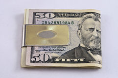 Money Cip Stock Photography